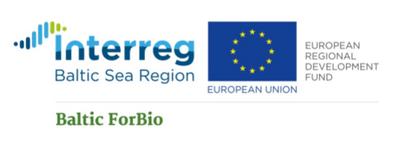 Kuva: Baltic forBio -hankkeen logo
